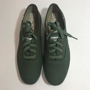 Keds Green Women's Champion Oxford Sneakers Size 8